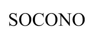 SOCONO trademark