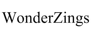 WONDERZINGS trademark