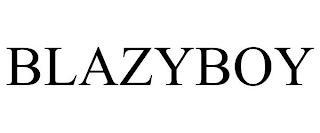 BLAZYBOY trademark