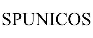 SPUNICOS trademark