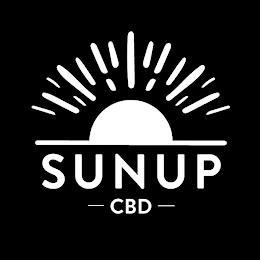 SUNUP CBD trademark