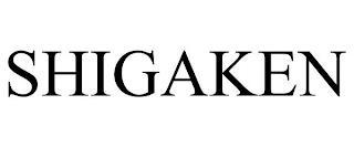 SHIGAKEN trademark