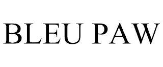 BLEU PAW trademark