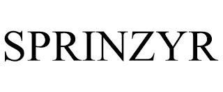 SPRINZYR trademark