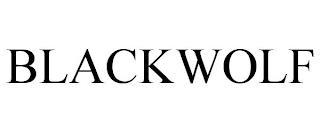 BLACKWOLF trademark