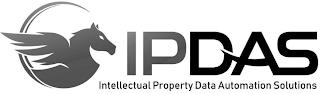 IPDAS INTELLECTUAL PROPERTY DATA AUTOMATION SOLUTIONS trademark
