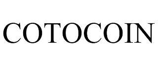COTOCOIN trademark