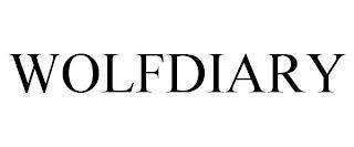 WOLFDIARY trademark