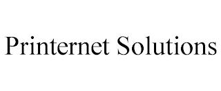 PRINTERNET SOLUTIONS trademark