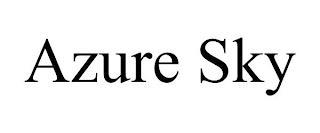 AZURE SKY trademark