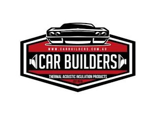 WWW.CARBUILDERS.COM.AU CAR BUILDERS THERMAL ACOUSTIC INSULATION PRODUCTS EST 2010 trademark