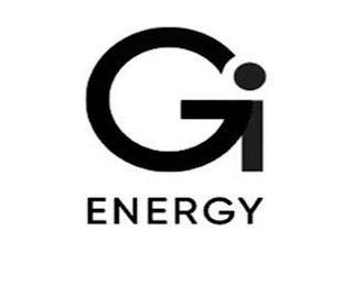 GI ENERGY trademark