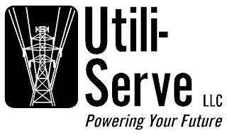 UTILI-SERVE LLC POWERING YOUR FUTURE trademark