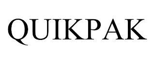 QUIKPAK trademark
