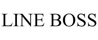 LINE BOSS trademark