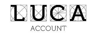LUCA ACCOUNT trademark