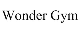 WONDER GYM trademark