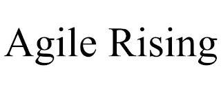 AGILE RISING trademark