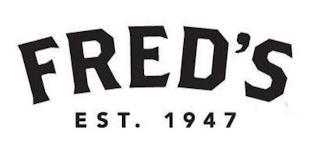 FRED'S EST 1947 trademark