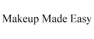 MAKEUP MADE EASY trademark