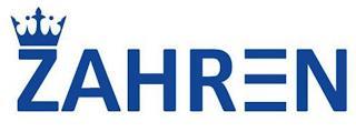 ZAHREN trademark