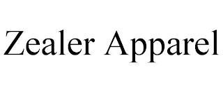 ZEALER APPAREL trademark