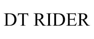 DT RIDER trademark