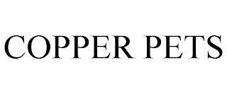 COPPER PETS trademark
