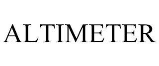 ALTIMETER trademark