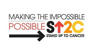 MAKING THE IMPOSSIBLE POSSIBLE S 2C STAND UP TO CANCER trademark