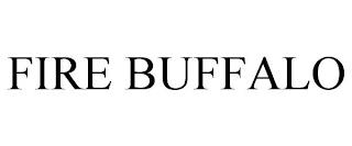 FIRE BUFFALO trademark