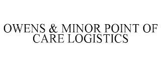 OWENS & MINOR POINT OF CARE LOGISTICS trademark
