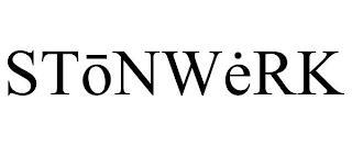 STONWERK trademark