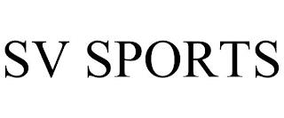 SV SPORTS trademark