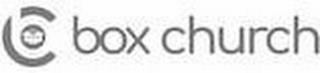 BC BOX CHURCH trademark
