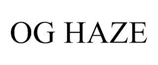 OG HAZE trademark