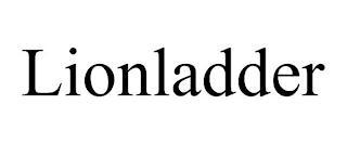 LIONLADDER trademark