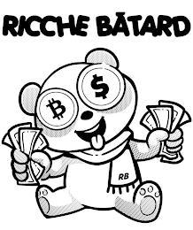 RICCHE BÂTARD $ RB trademark