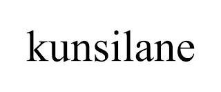 KUNSILANE trademark