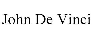 JOHN DE VINCI trademark