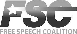 FSC FREE SPEECH COALITION trademark