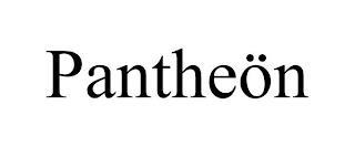 PANTHEÖN trademark