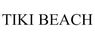 TIKI BEACH trademark