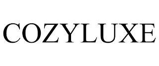 COZYLUXE trademark