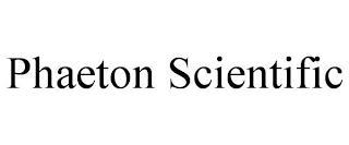 PHAETON SCIENTIFIC trademark