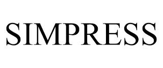 SIMPRESS trademark