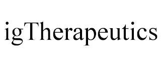 IGTHERAPEUTICS trademark