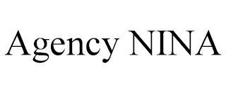 AGENCY NINA trademark