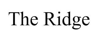 THE RIDGE trademark