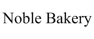 NOBLE BAKERY trademark